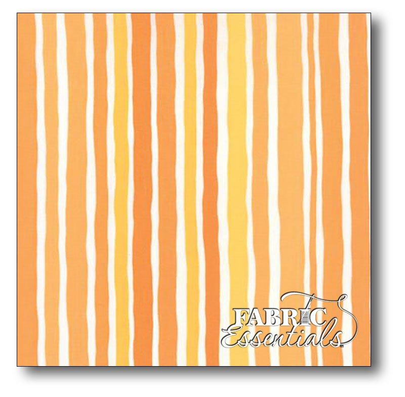 Moda - Me and My Sister - Dot Dot Dash - Stripe - 22264-13 Orange - BUY THE BOLT - 24in