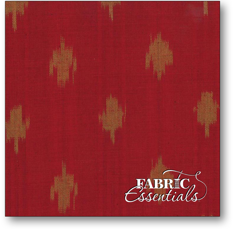 Moda - Midwinter Reds Ikat - Wovens -12214-38 Red Tan