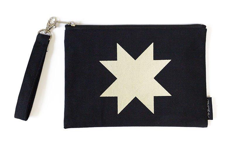 Moda - Quilt Block Zipper Bag Black - 963-64
