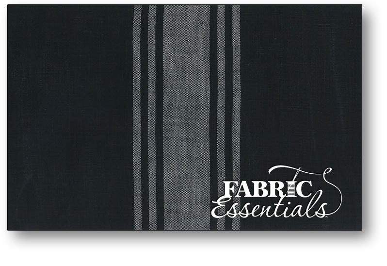 Moda Toweling - 920-277 - Urban Cottage - Black-Ivory