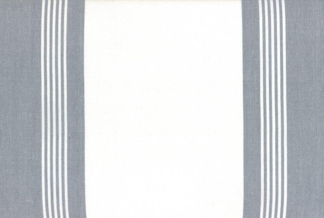 Moda Toweling - 992-256 - 18in Rock Pool Toweling - Rocks Gray on White