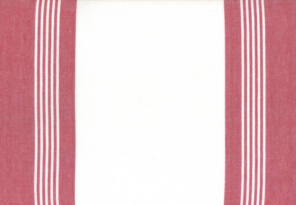 Moda Toweling - 992-260 - 18in Rock Pool Toweling - Anemone Red on White