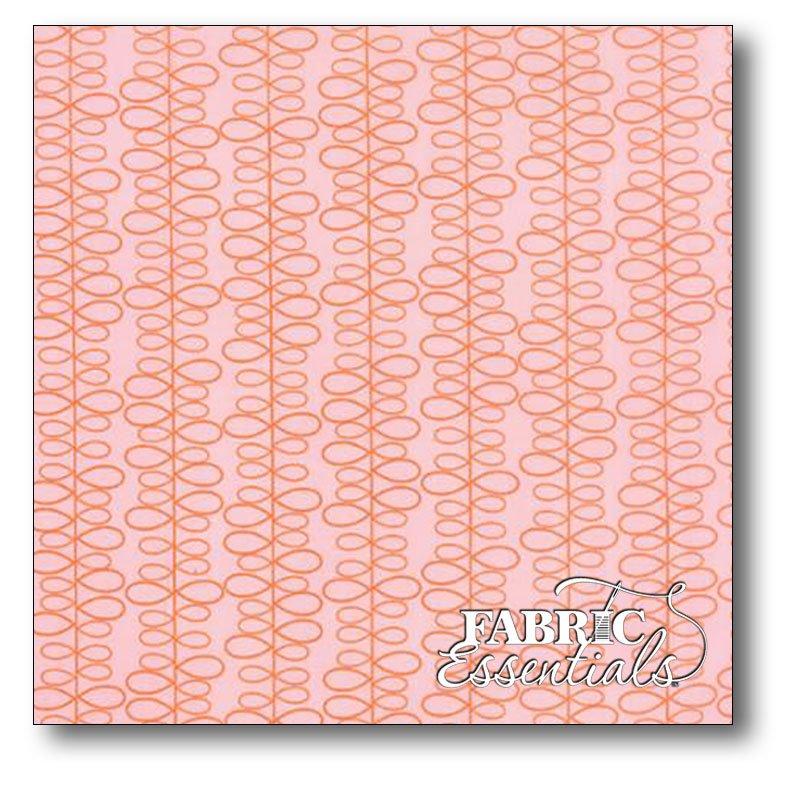 Moda - Zen Chic - For You - Leaves - 1576-11 Orange (Coral)