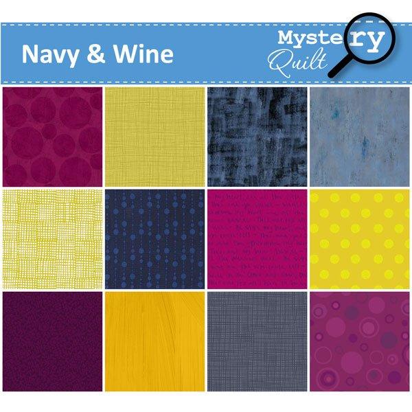 2021 MQ - Navy & Wine Quilt