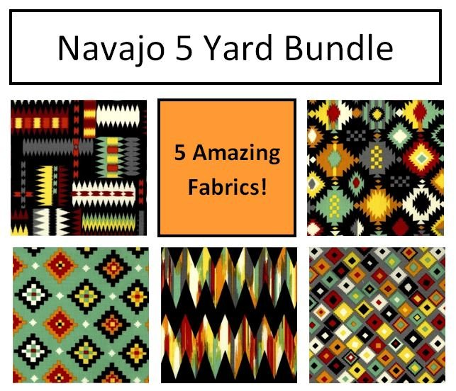 Navajo ColorStack - 5 Yard Bundle!