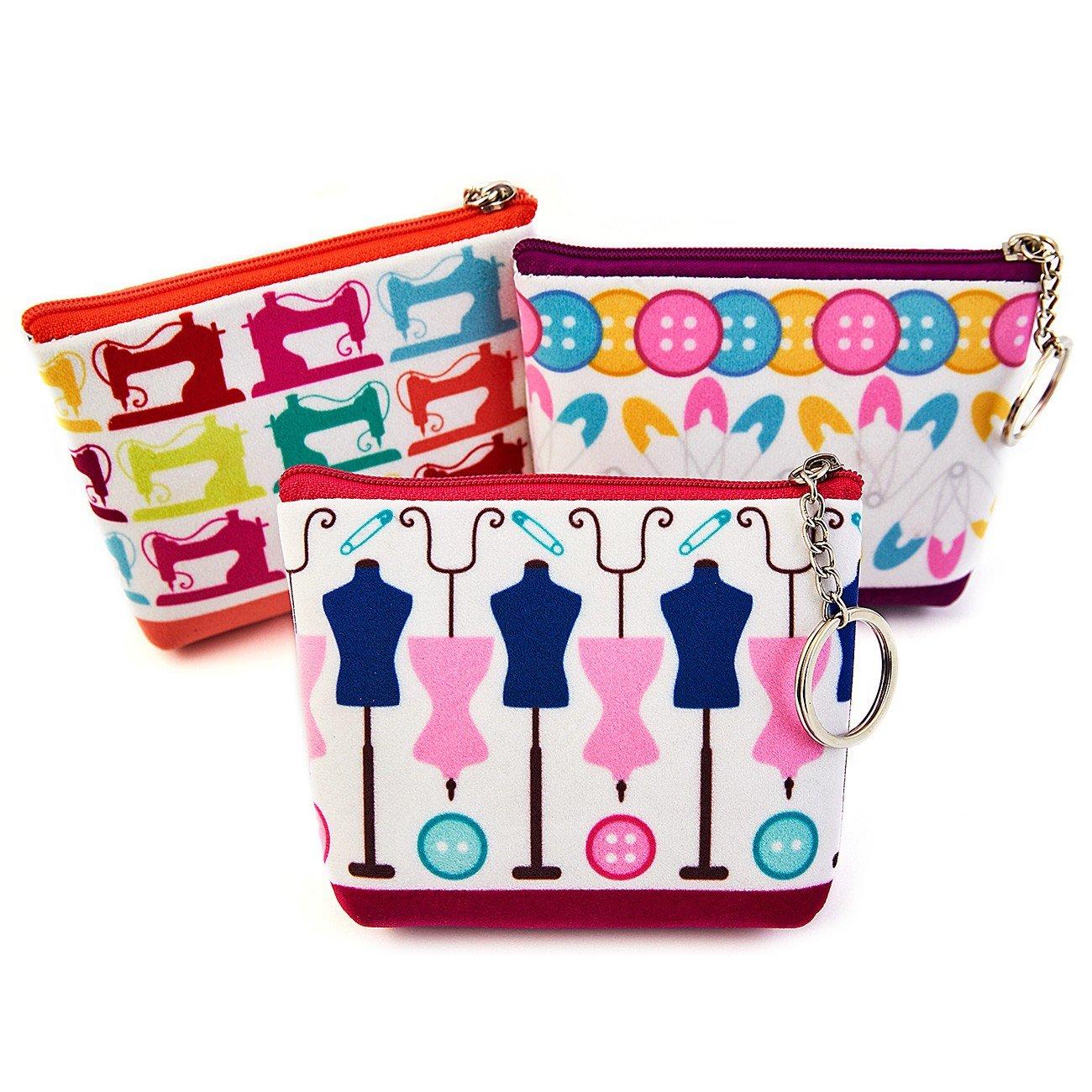 Novelty Sewing Zipper Pouch - 3 Designs!