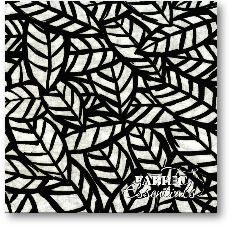 P&B - Sketchbook - Leaves - 617-K Black on White