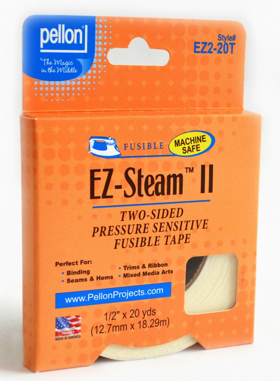 Pellon - EZ-Steam II - EZ2-20T - 1/2 Inch wide x 20 yards!