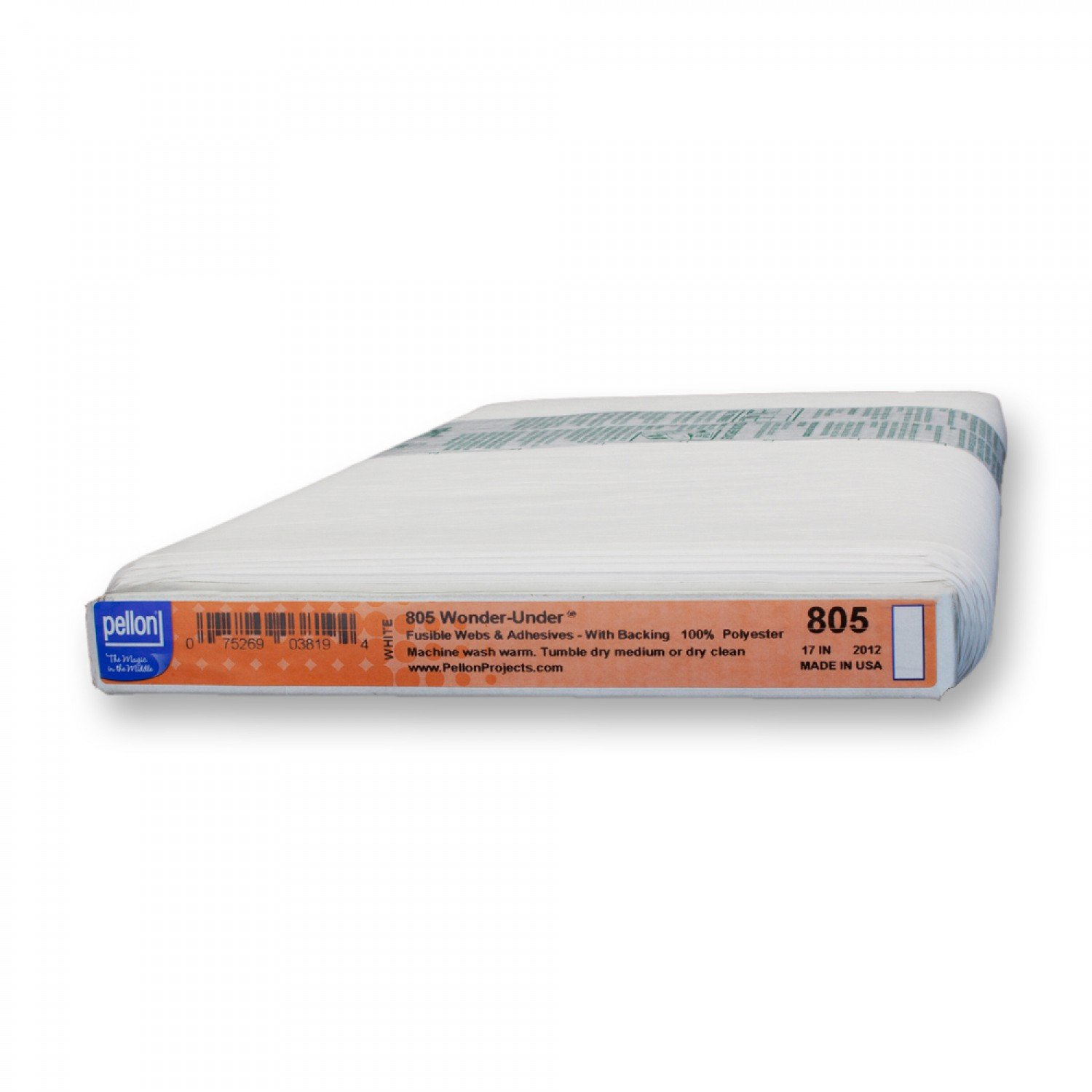 Pellon - 805P - Fusible - Wonder Under - Paper Backed Fusible Web - 17in wide