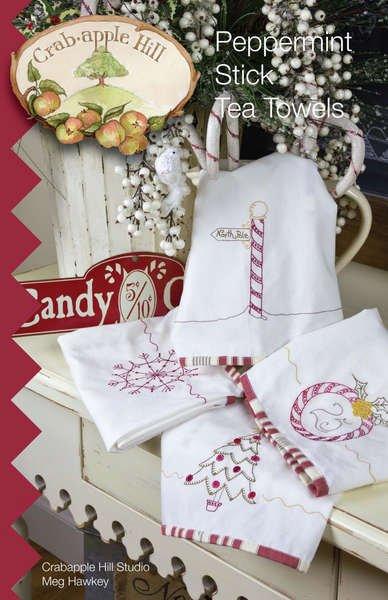 Peppermint Stick Tea Towels