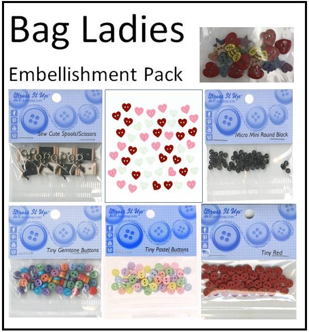 Bag Ladies Embellishment Pack