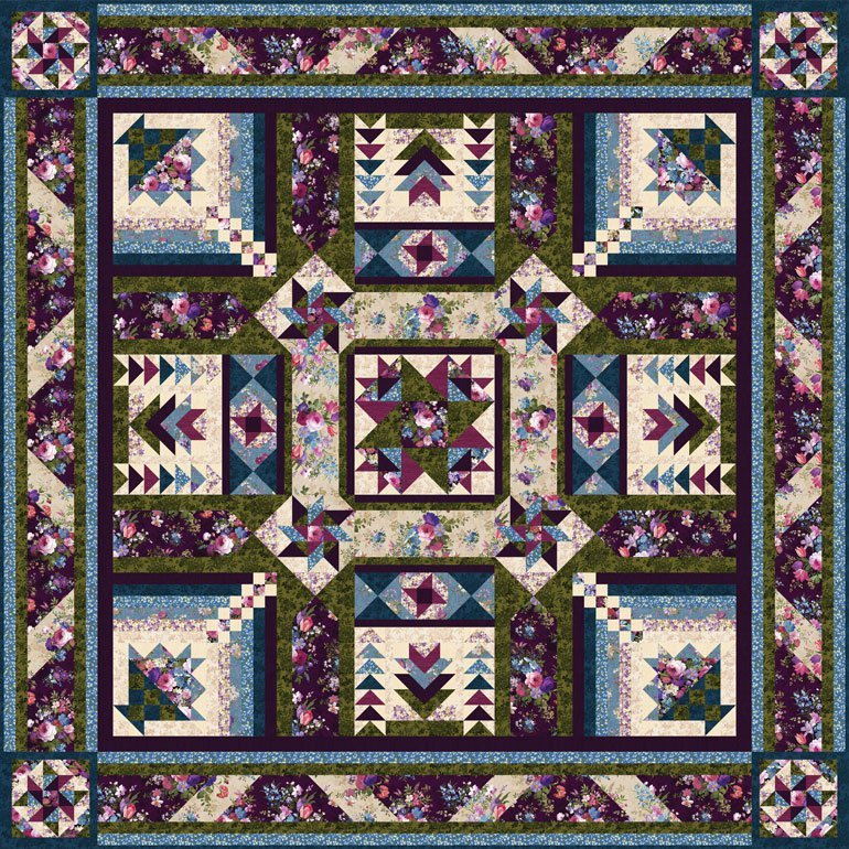Masterpiece BOM Quilt - Includes Backing!