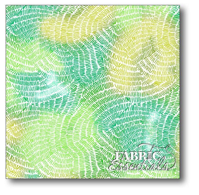 QT Fabrics - Ombre Stitches - 25974-G Green