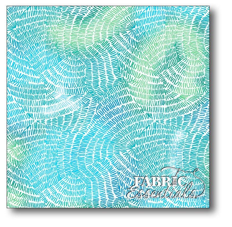 QT Fabrics - Ombre Stitches - 25974-Q Carribean
