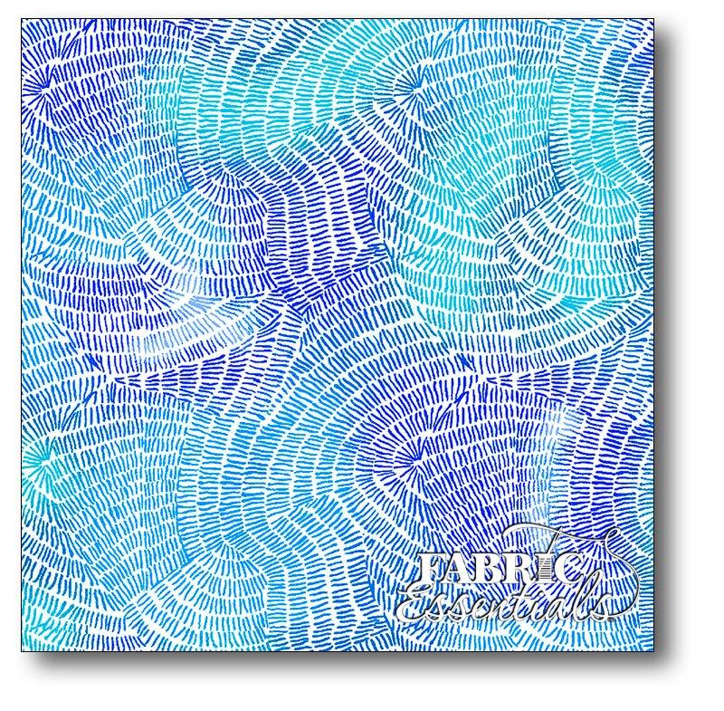 QT Fabrics - Ombre Stitches - 25974-Y Ultra Marine