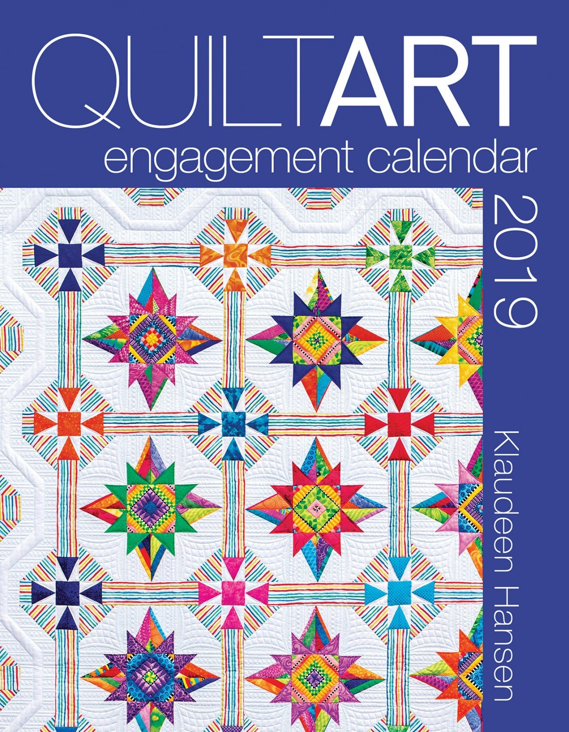 2019 Quilt Art Engagement Calendar - AQS11318