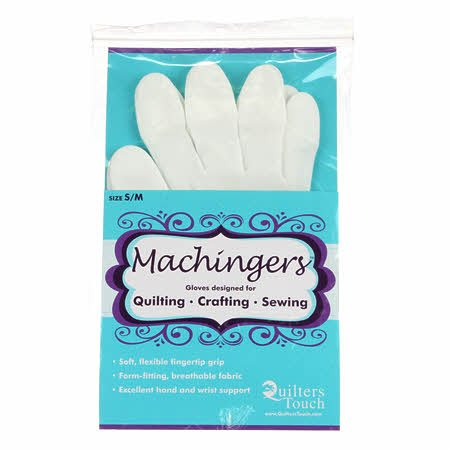 Quilters Touch Gloves - Machingers - Small/Medium -  0209G-S