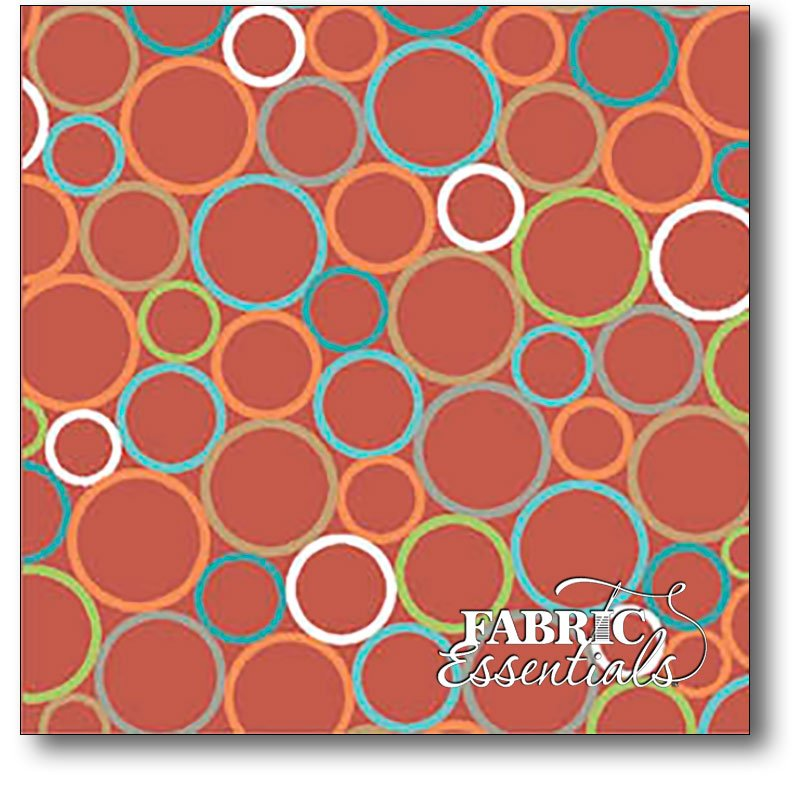 Quilting Treasures - Heads Up - Circle Geometric - 24254-T