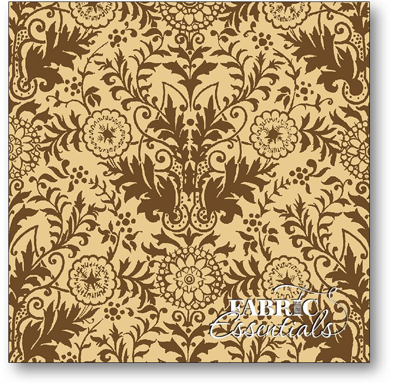 * Quilting Treasures - Lauren - 22855-EA - Tonal - Cream Brown - BUY THE BOLT - FANTASTIC PRICE ON 12 YARDS!
