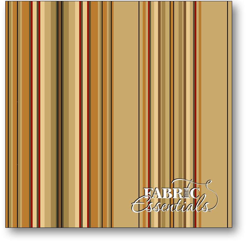 * Quilting Treasures - Lauren - 22857-E - Stripe - Tan - BUY THE BOLT - FANTASTIC PRICE ON 12 YARDS!