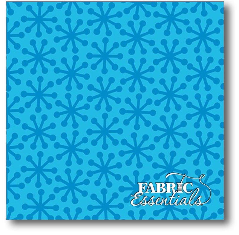 Quilting Treasures - Ready Set Color - Jacks - 1649-23062-B Blue