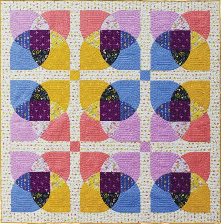 Reflections Quilt Kit ~ Aerial Fabrics!