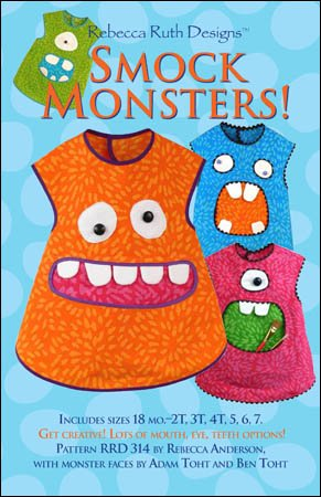 RRD 314 - Smock Monsters Pattern
