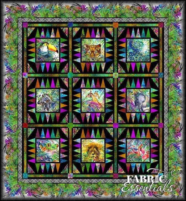 In The Beginning Fabrics - Safari Quilt KIT!