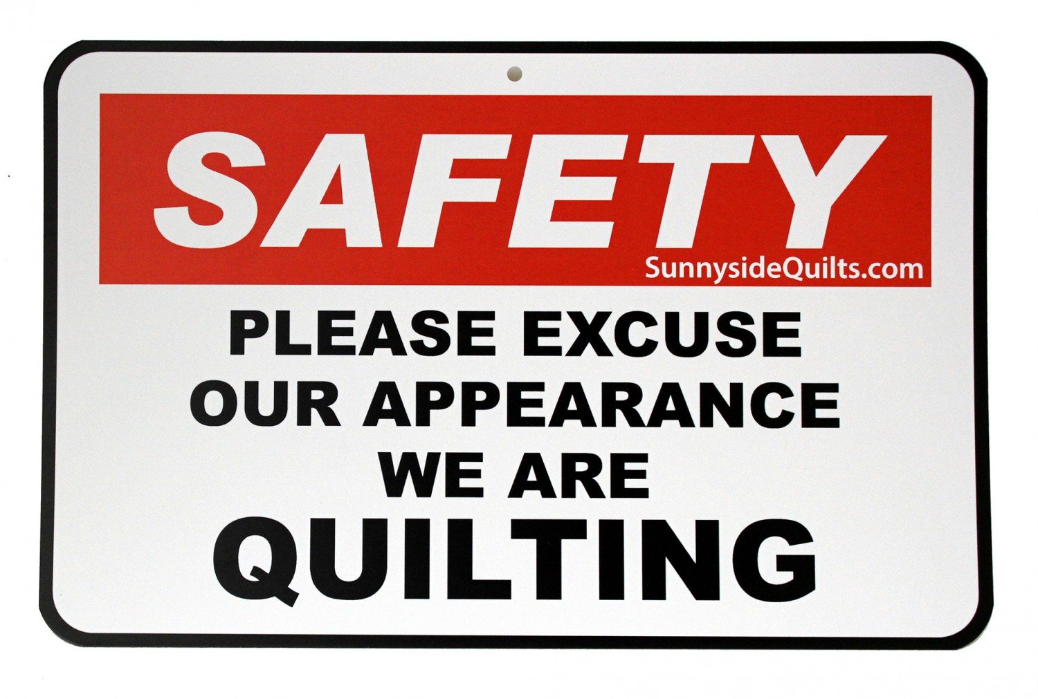 Sign - Safety - Please Excuse Our Appearance