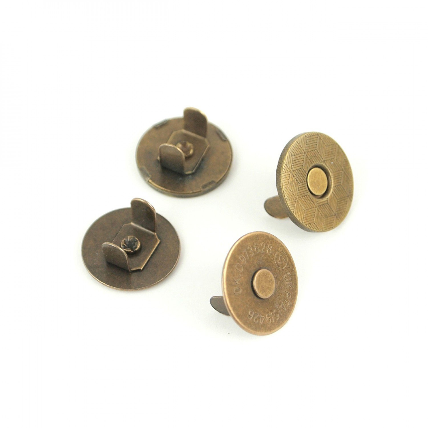 Magnetic Snaps - Set of 2 - 3/4in - STS158A