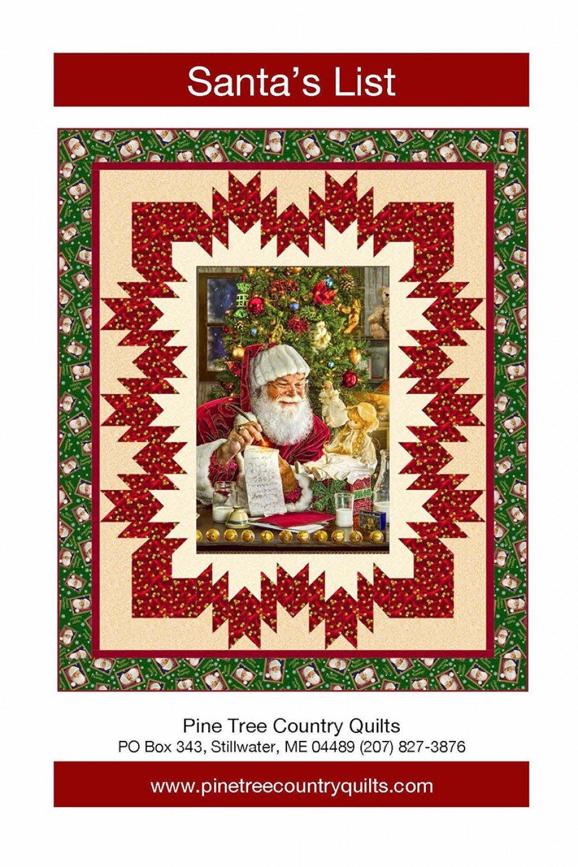Santa's List - Pattern for One-Yard Panels - PT1698