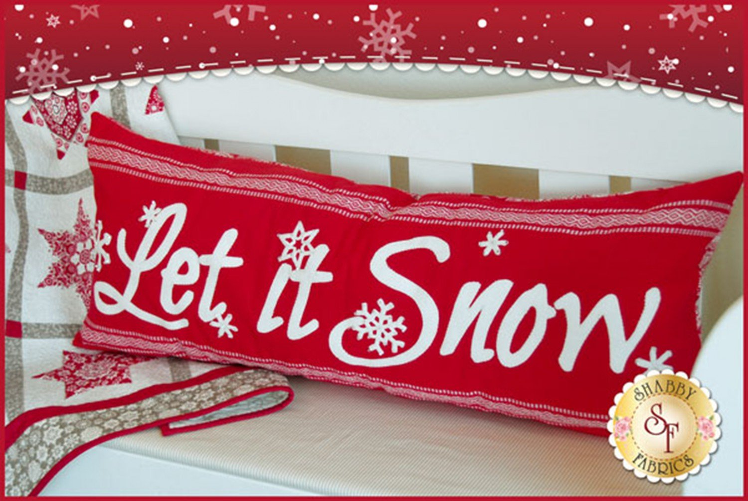 Let it Snow Pillow Pattern - SF49848