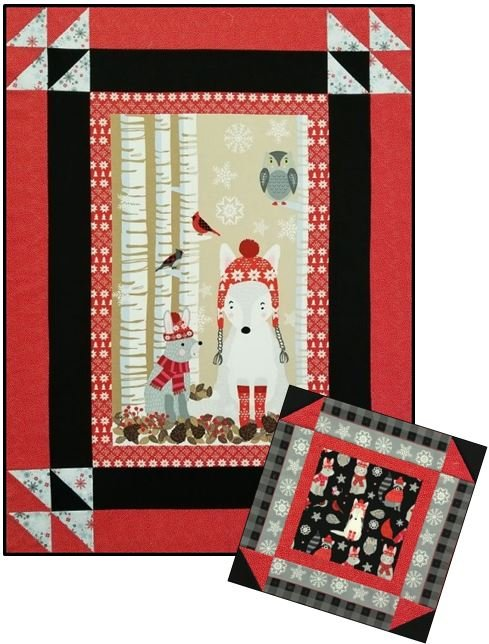 Studio e - Snow Delightful - Quilt KIT + Bonus PIllow!