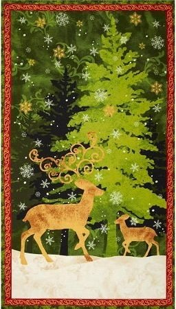 Springs - Peace on Earth - PANEL - Approx 23in x 44in - SC2201WILM