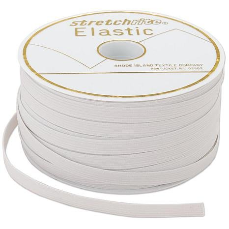 Stretchrite - Latex-Free - Elastic on the roll 3/8 - Natural Color - OUT OF STOCK UNTIL MAY OR JUNE.