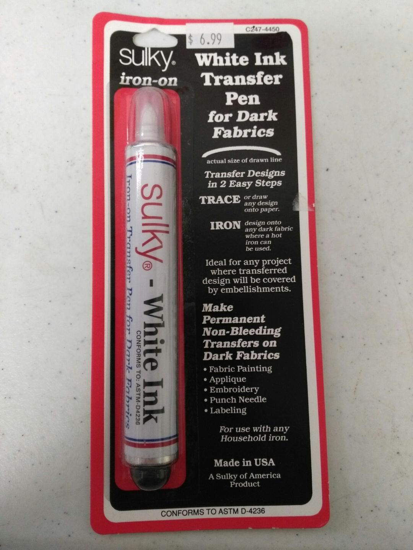 Sulky - White Ink Transfer Pen - C247-4