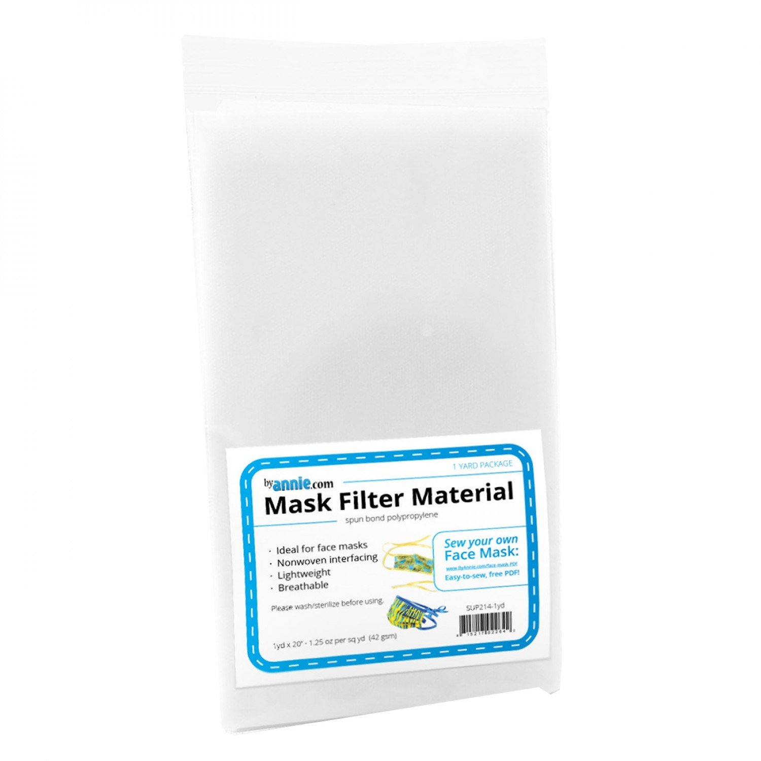 Mask Filter Material - 1yd x 20in - SUP214-1