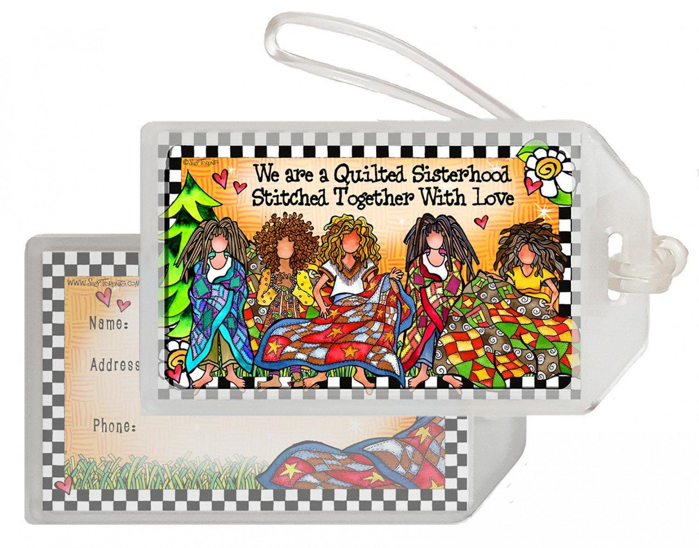 Suzy Toronto - Quilt Sisterhood Luggage Tag - TAG258ST