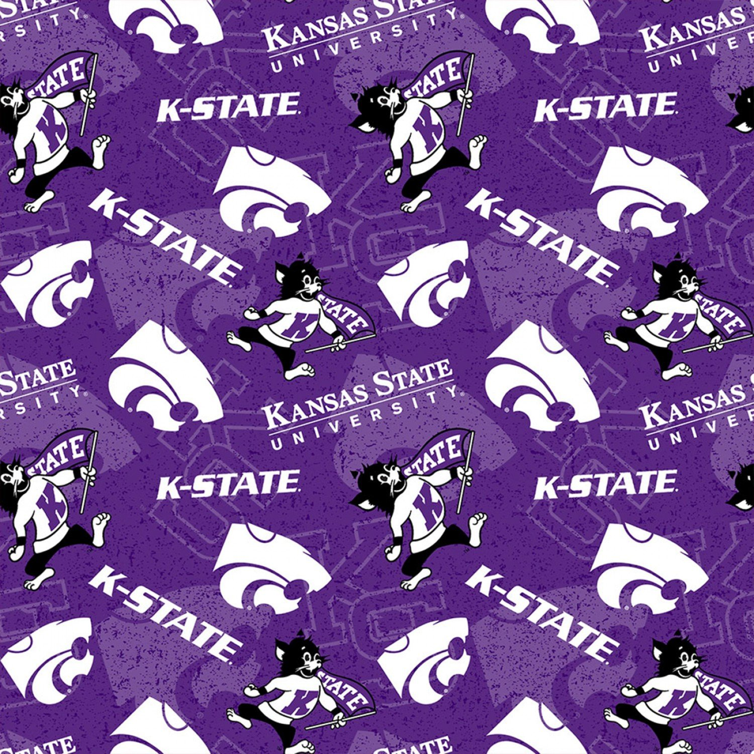 Sykel - College Cottons - NCAA-Kansas State University Wildcats - KSU-1178