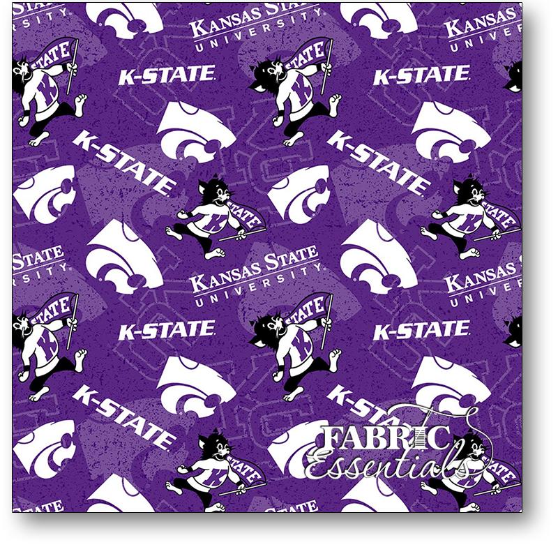 Sykel - College Cottons - NCAA-Kansas State University Wildcats - KSU-1178