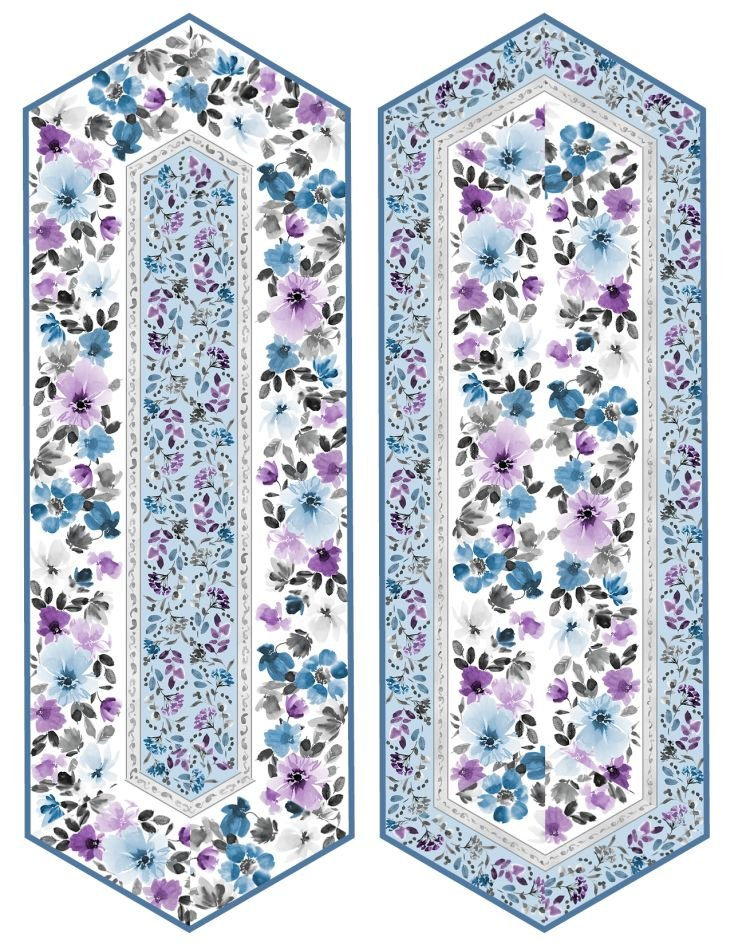Awakenings - Table Runners Kit - Includes Backing - Makes 2! (See Note)