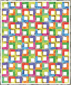 P&B - Textura - Text Tiles Quilt KIT - ONE LEFT!
