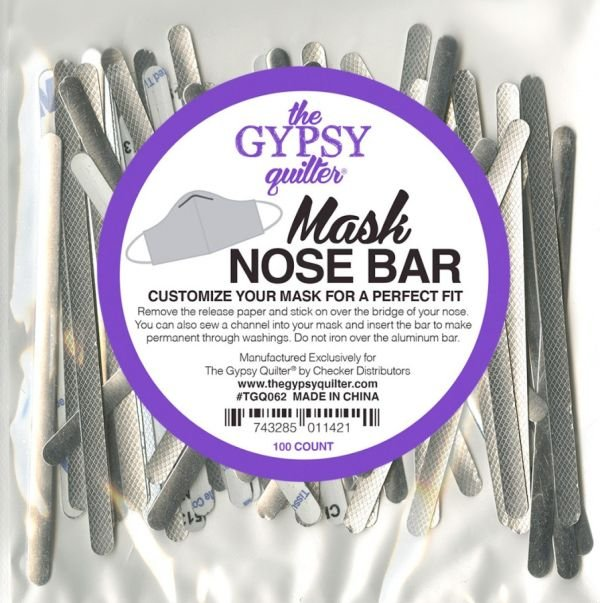 The Gypsy Quilter - TGQ062 - Mask Nose Bar - 100ct - PRE-ORDER NOW!