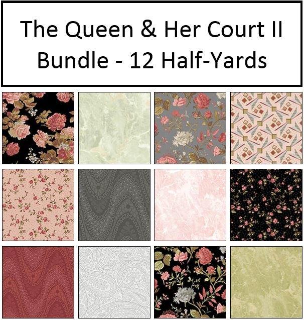 The Queen & Her Court II - Bundle - 12 Half-Yards