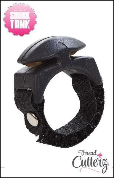 Thread Cutterz - Black Ring Band -  Black Top
