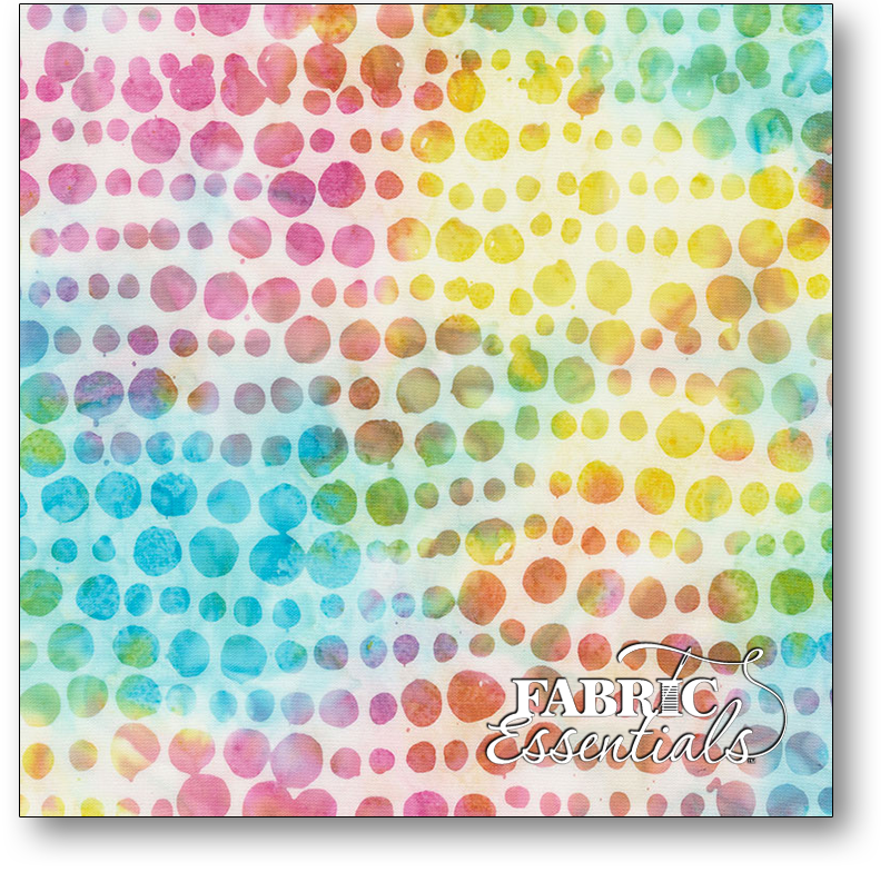 Timeless Treasures - 106in Wide Batik Backing - XTonga-B4882-Crystal