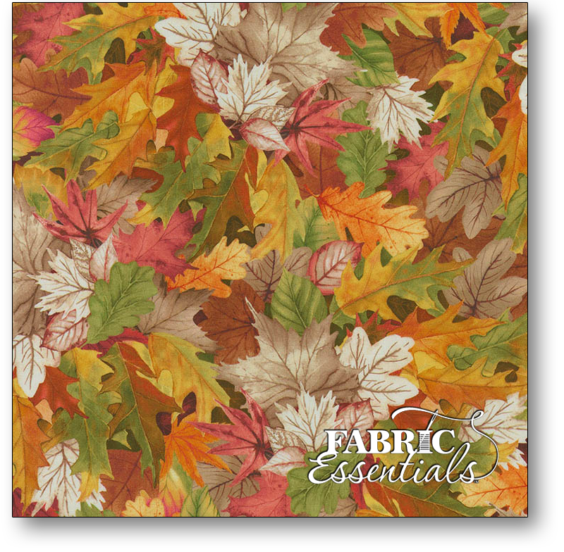 Timeless Treasures - Chong-a Hwang - Birch Song - CD7411-MLT Multi Fall Leaves