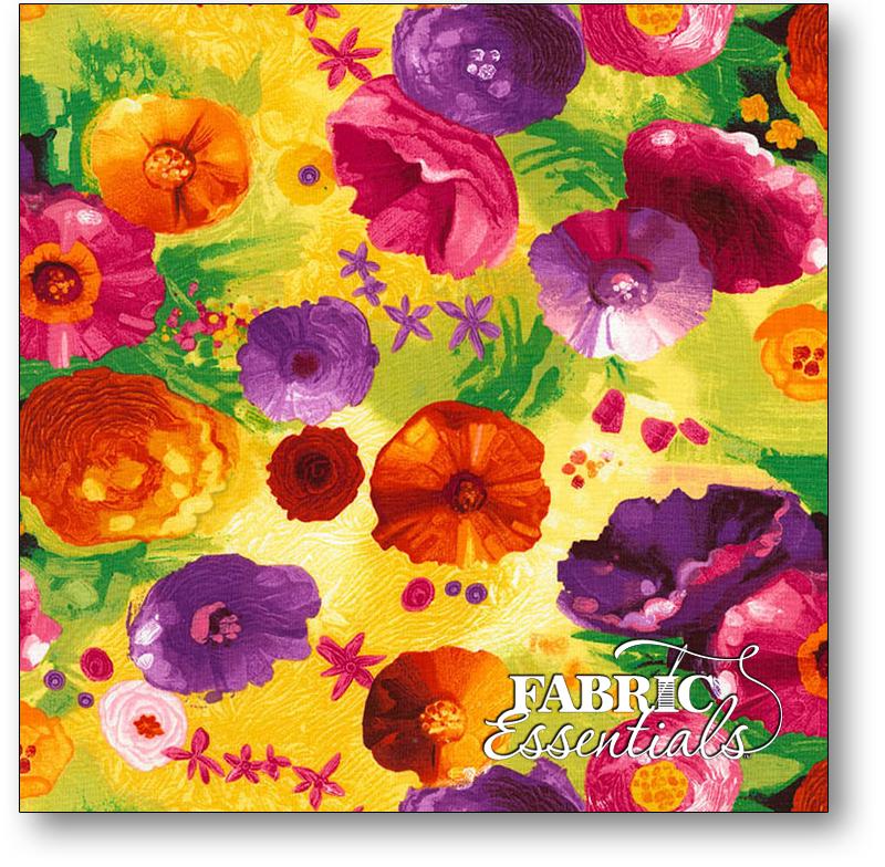 Timeless Treasures - Chong-a Hwang - Dream - Fantasy Flowers - Dream-C6260-Spring