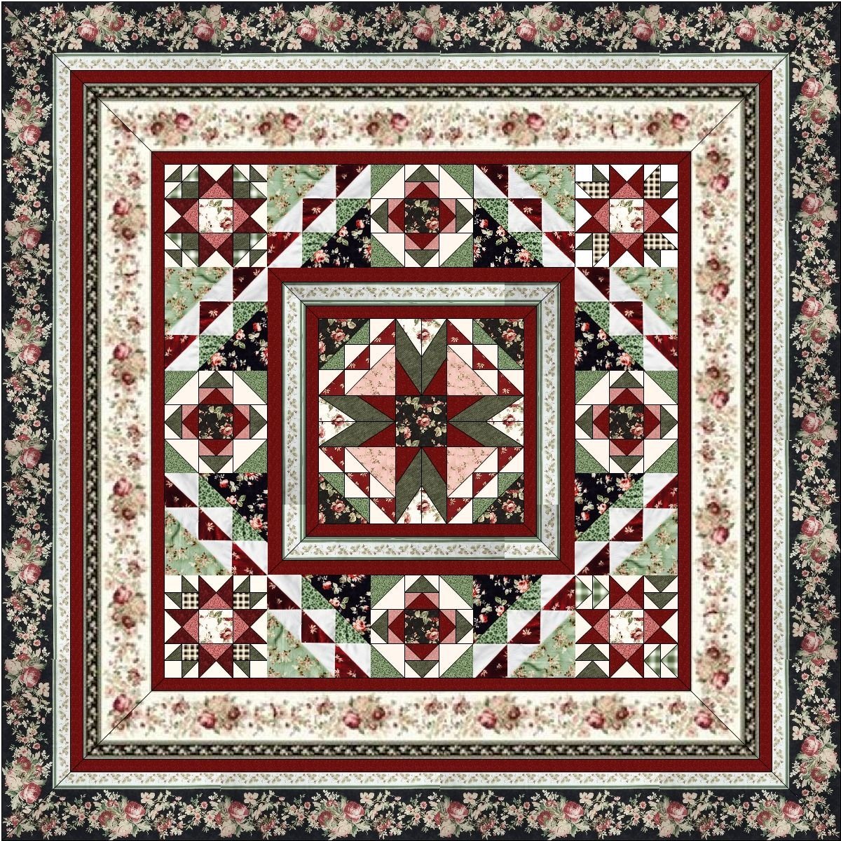 .Tomorrow's Promise BOM Quilt - 10-Month Program Includes Backing - SOLD OUT!