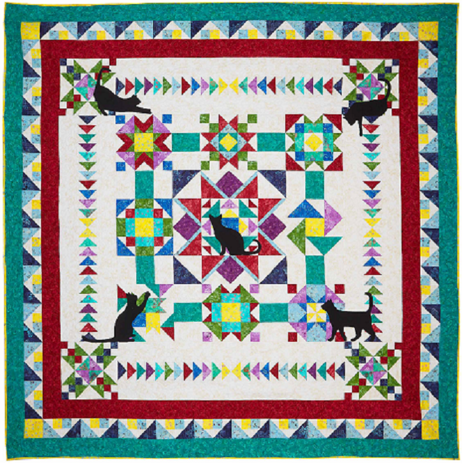 Whiskers n Catnip BOM Quilt - SOLD OUT!